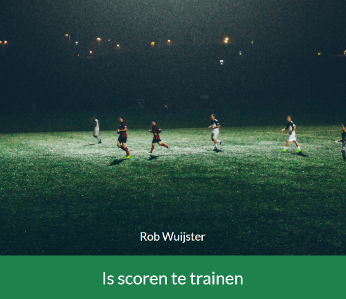 Is scoren te trainen