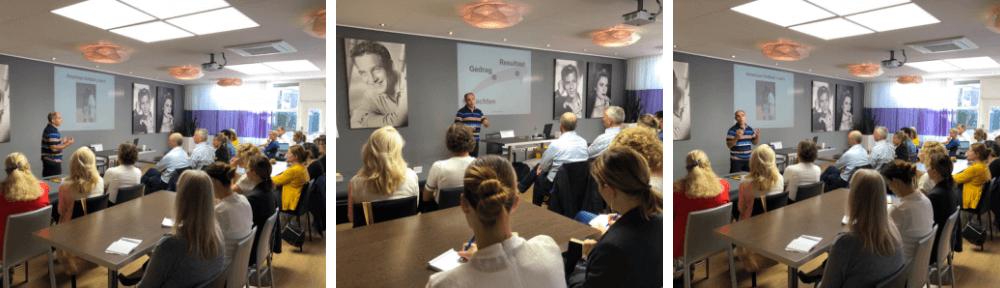 Spreker ondernemersvereniging