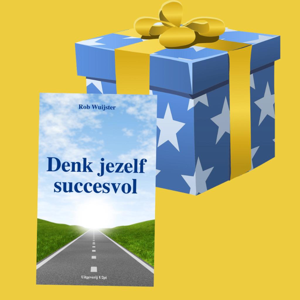 Origineel geschenk geef denk jezelf succesvol