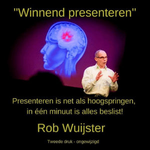 winnend presenteren