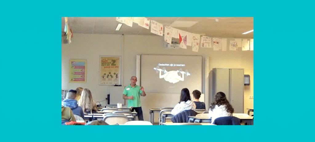presentatie voor loot leerlingen